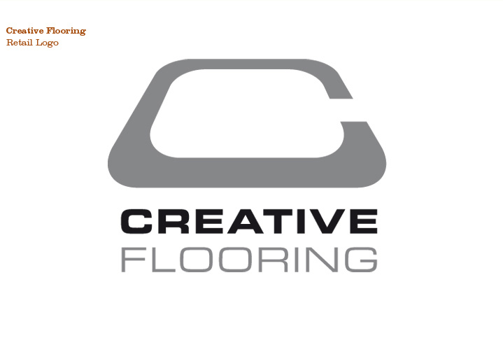 Creative Flooring, Retail Logo
